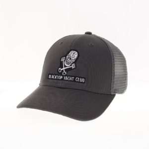 Blacktop Yacht Club's Signature Grey Trucker Cap